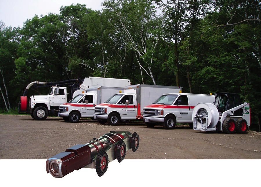 Pipe Services Service Vehicles