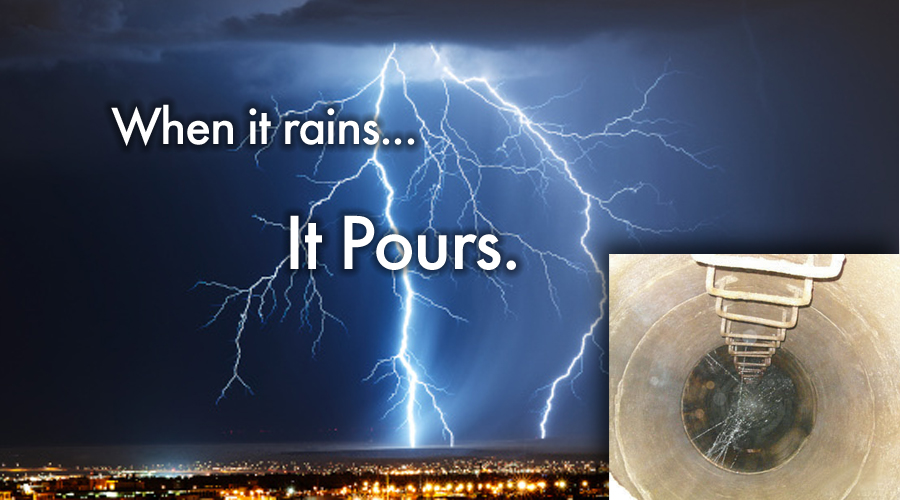 When it rains... it pours!